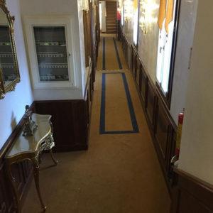 Moquette corridoio Hotel Venezia