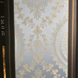 tessuto tesato oro argento
